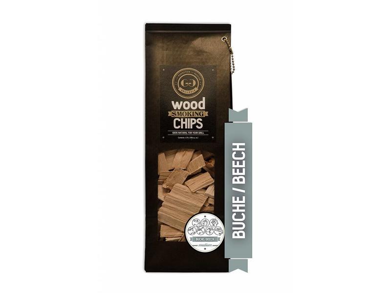 GRILLGOLD Grillgold Räucherchips Wood Smoking Chips Buche 1,75 Liter
