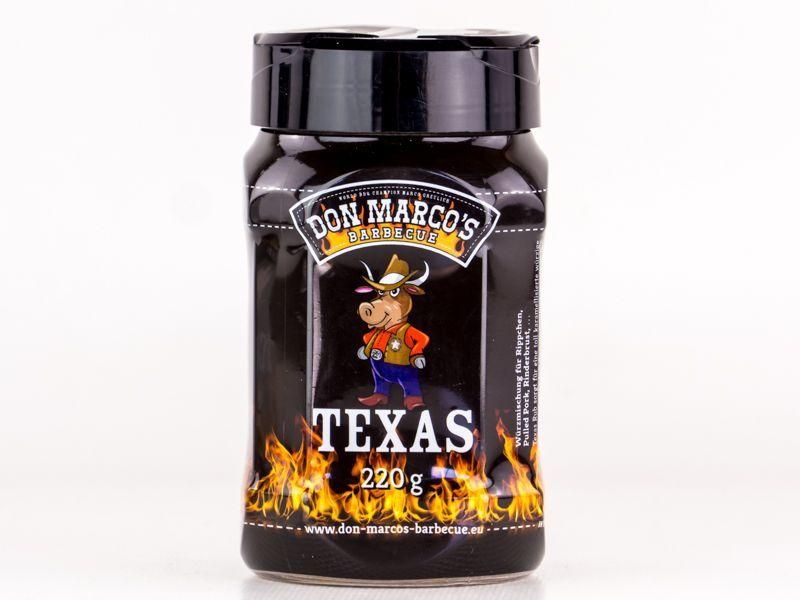 DON MARCO Don Marco's Texas Style Rub / 220g Streuer