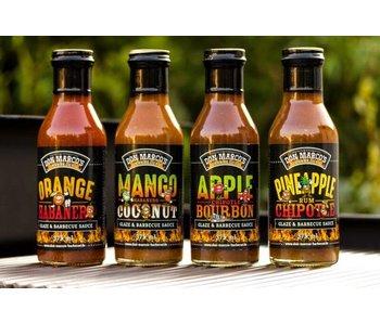 Apple Chipotle Bourbon Glaze & Barbecue Sauce