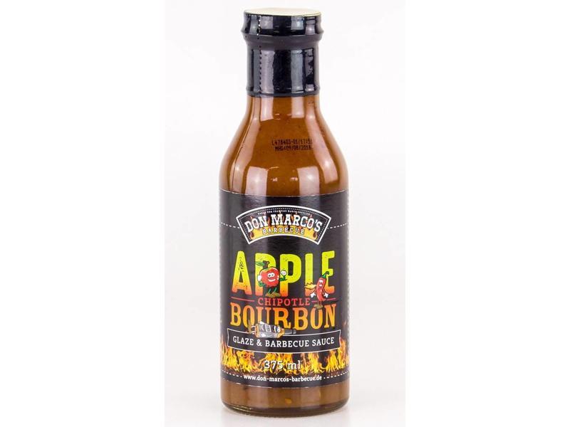 DON MARCO Apple Chipotle Bourbon Glaze & Barbecue Sauce 375ml