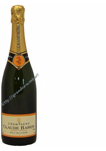 Champagne Claude Baron Brut Cuvée Topaze Millesimé 2006