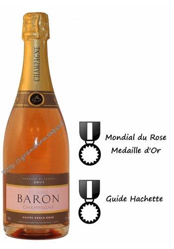 Champagne Claude Baron Cuvee Perle Brut Rose