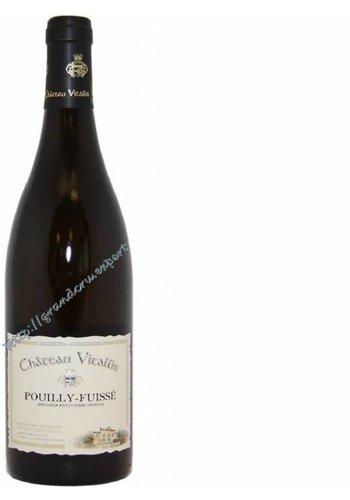 Chateau Vitallis Pouilly Fuissé Les vignes du chateau 2016