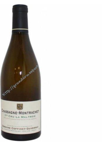 Domaine Coffinet Duvernay Chassagne Montrachet Premier Cru la Maltroie 2013
