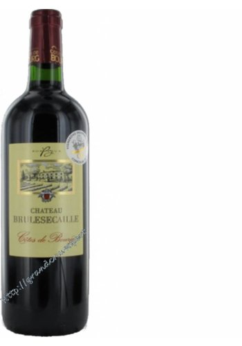 Chateau Brulesecaille Cotes de Bourg rouge 2015