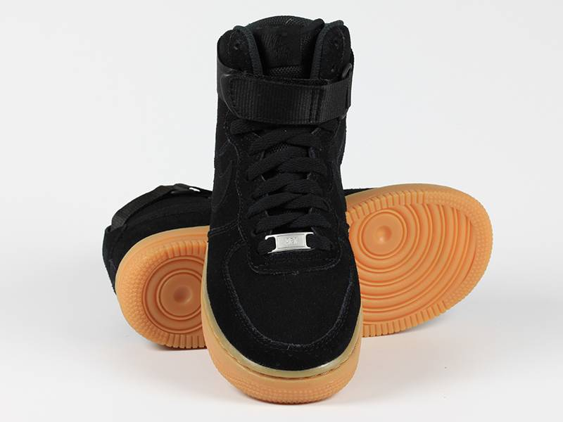 super populaire 2b485 d371c Nike Air Force 1 High VT PRM Suede Anthracite Orange ...
