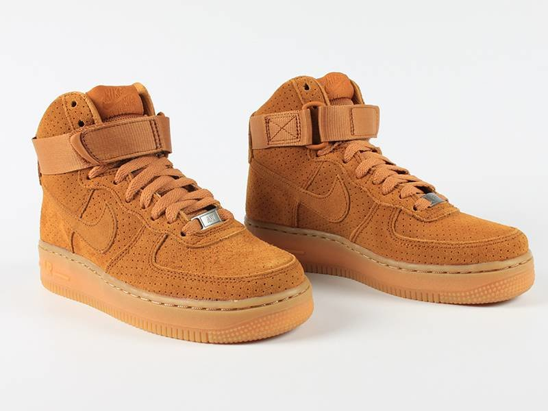 Nike Air Force Suede Zwart Dames
