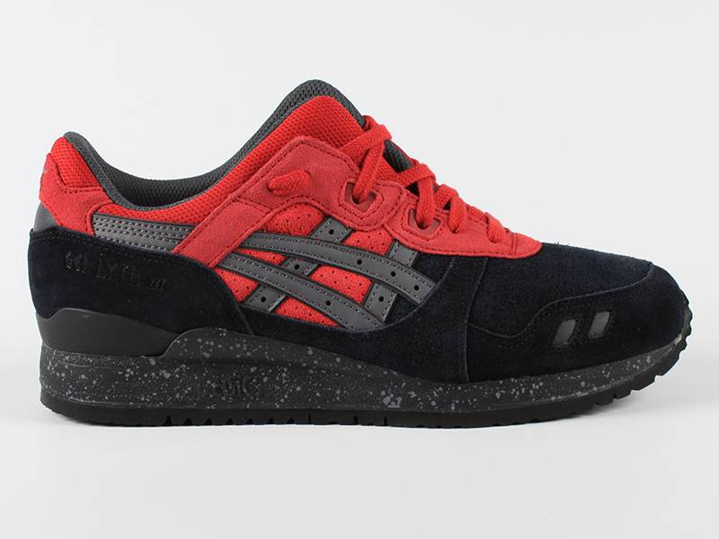 ASICS Gel Lyte III Black/Red H60QK 9023