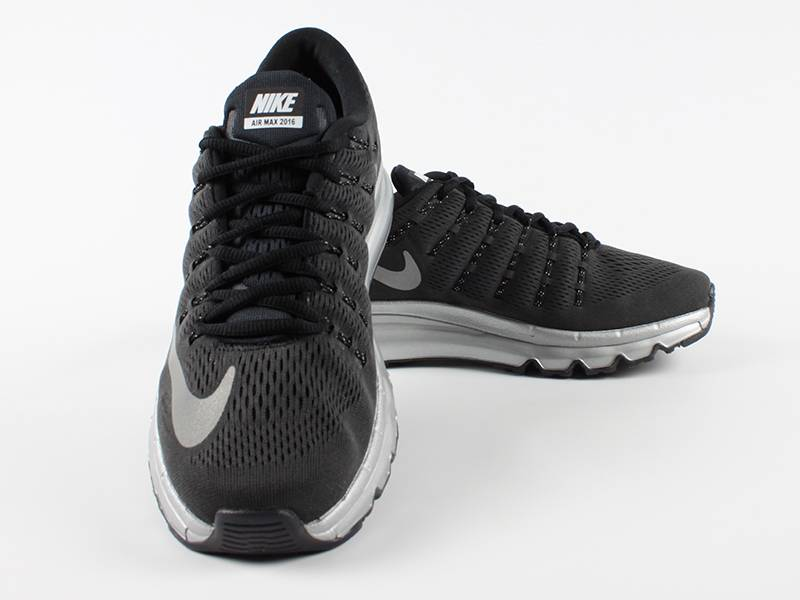 Nike Air Max 2016 Black And Silver