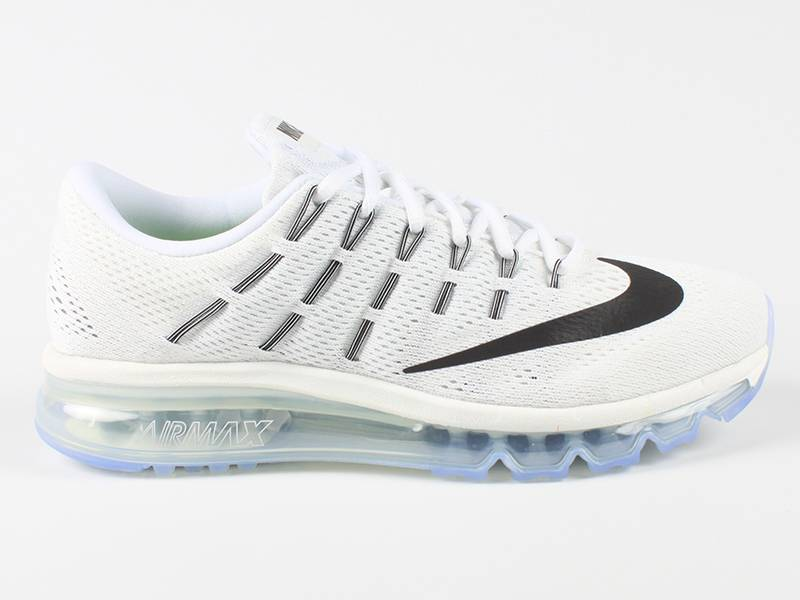 Nike Air Max 2016 Wit Zwart