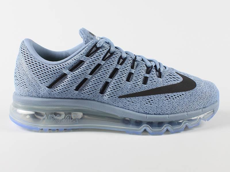 quite nice f3d35 8485e nike air max 2016 blue grey