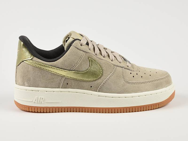 Nike Air Force Blauw Suede