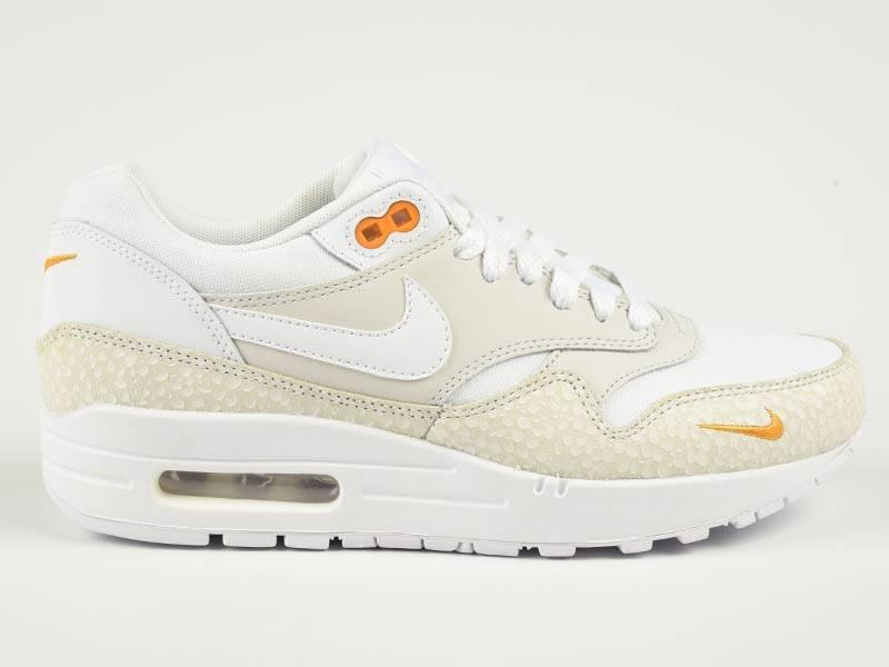 Nike Air Max 1 Premium White Kumquat