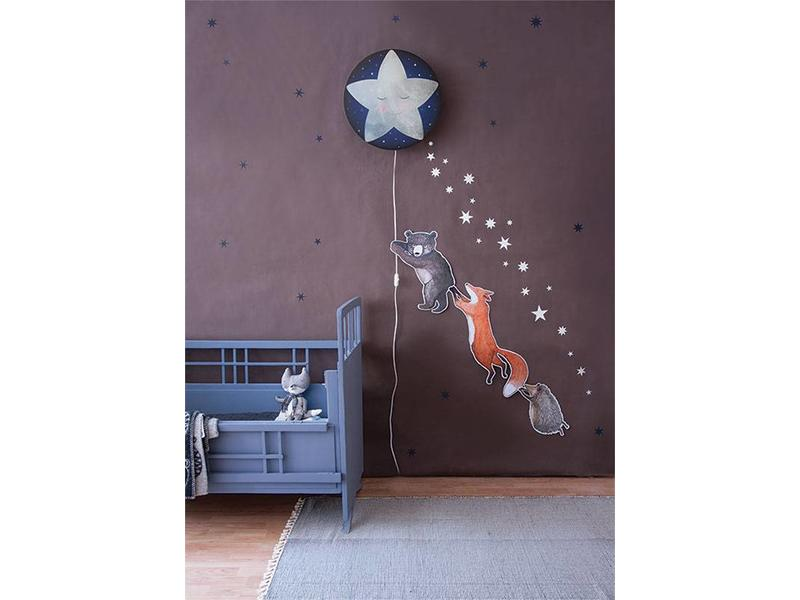 Starry Sky Stickers Midnight Blue