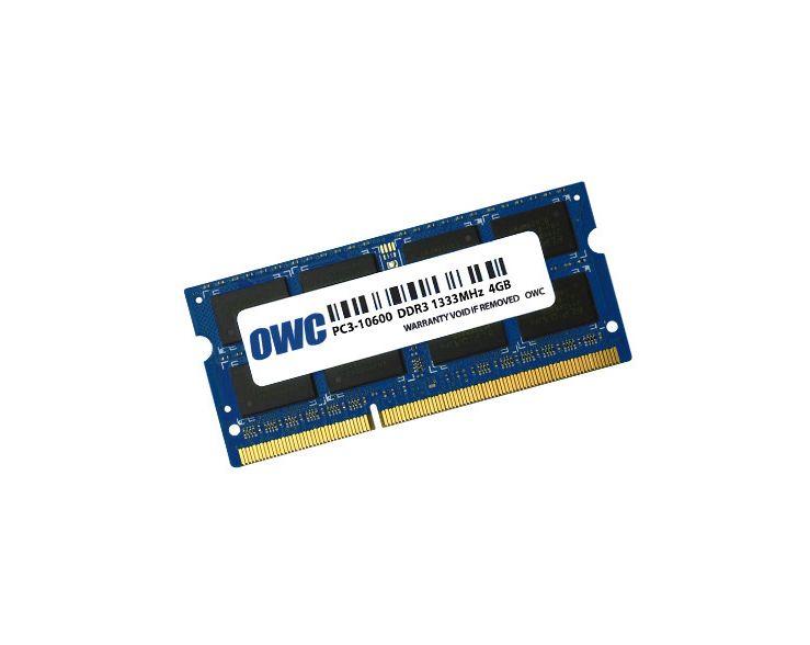 OWC 4GB RAM MacBook Pro Early 2011 tot Late 2011