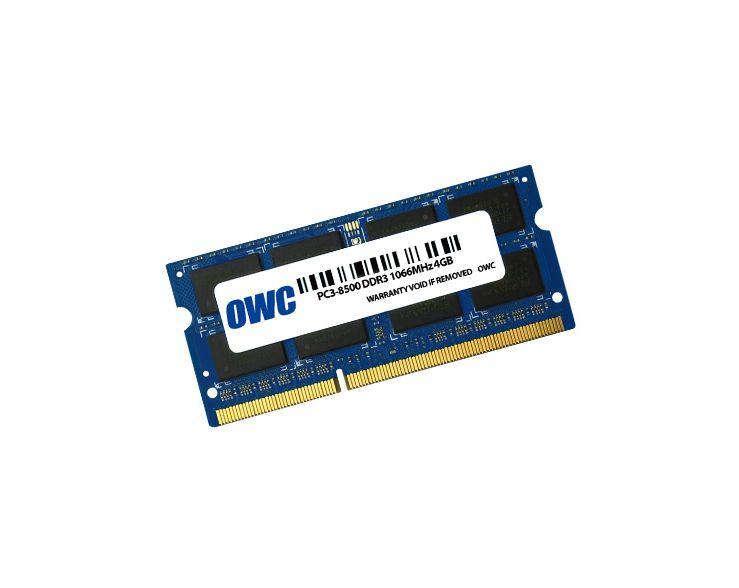 OWC 4GB RAM Mac Mini Early 2009 tot Mid 2010