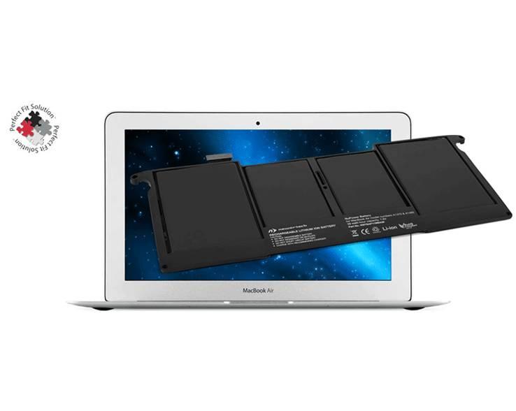 """Newertech Macbook Air 11"""" 2011-2015 Batterij"""