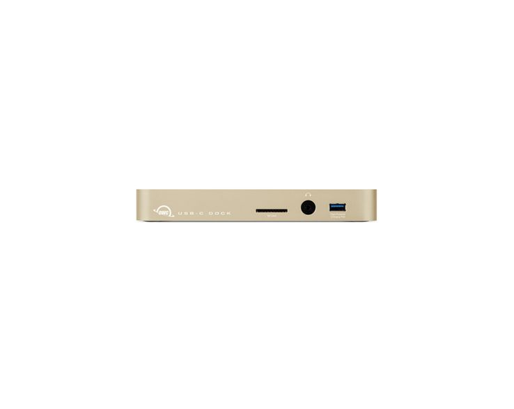 OWC OWC USB-C Dock goud