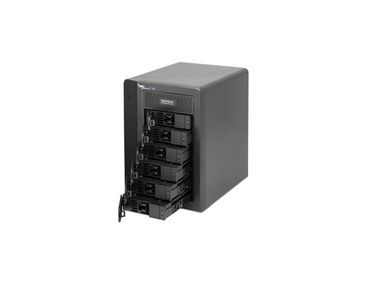 Promise Technology PROMISE Pegasus2 R6 24TB (6x4TB) Thunderbolt 2 RAID-systeem
