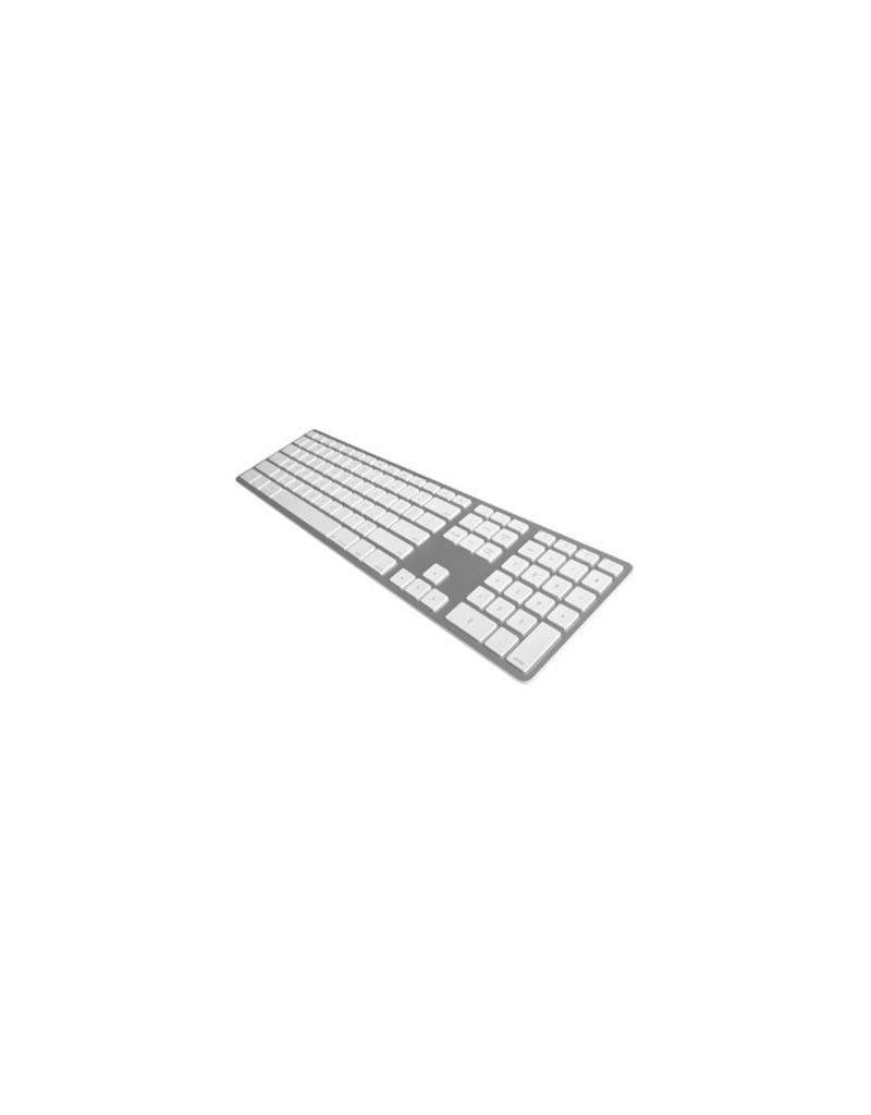 Matias Draadloos Aluminium Toetsenbord voor Mac (Zilver)
