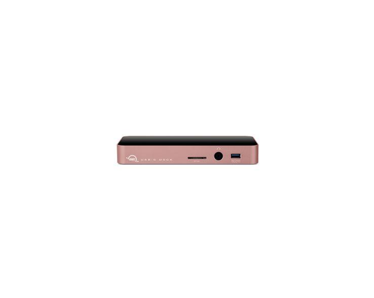 OWC USB-C Dock Rosé Goud