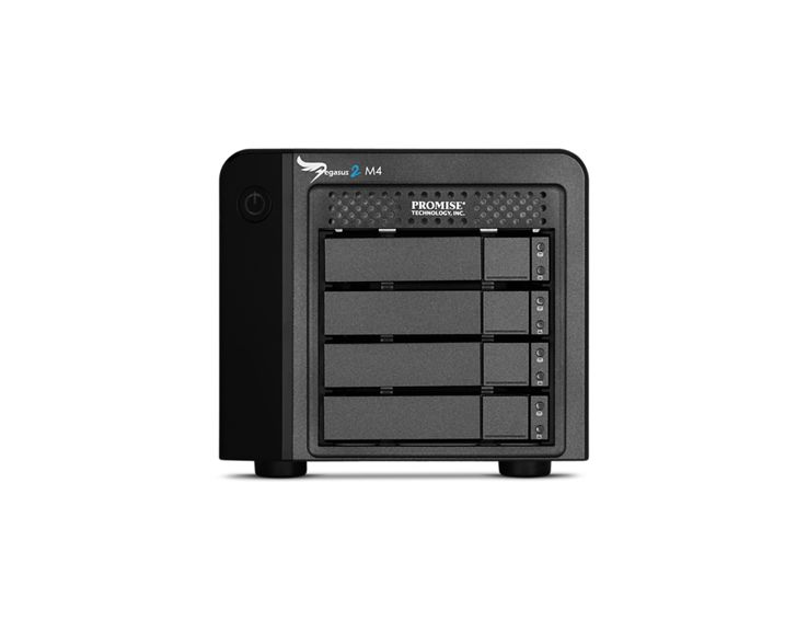 Promise Technology PROMISE Pegasus2 M4 4TB (4x1TB) Thunderbolt 2 RAID-systeem
