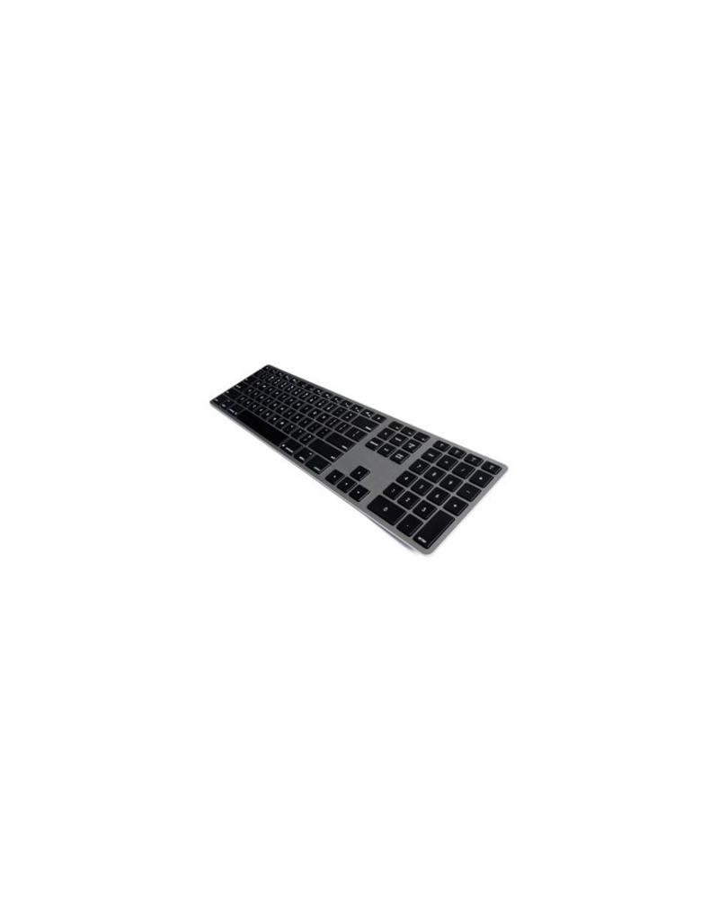 Matias Draadloos Aluminium Toetsenbord voor Mac (Space Grijs)