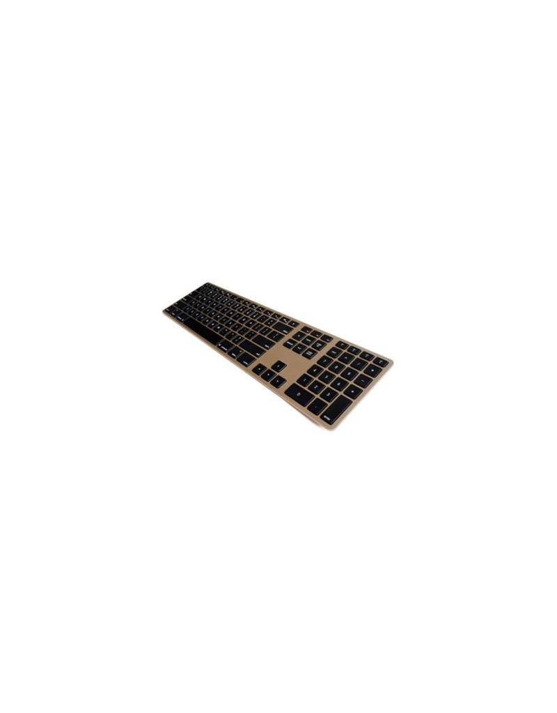 Matias Draadloos Aluminium Toetsenbord voor Mac (Goud)