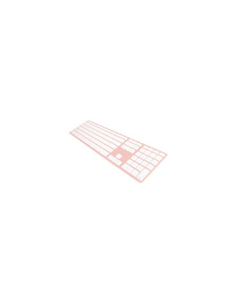 Matias Draadloos Aluminium Toetsenbord voor Mac (Rosé Goud)