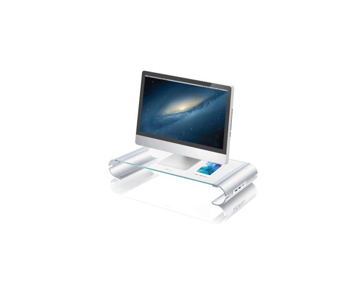j5create Monitor Stand met 3-port USB 3.0 Hub