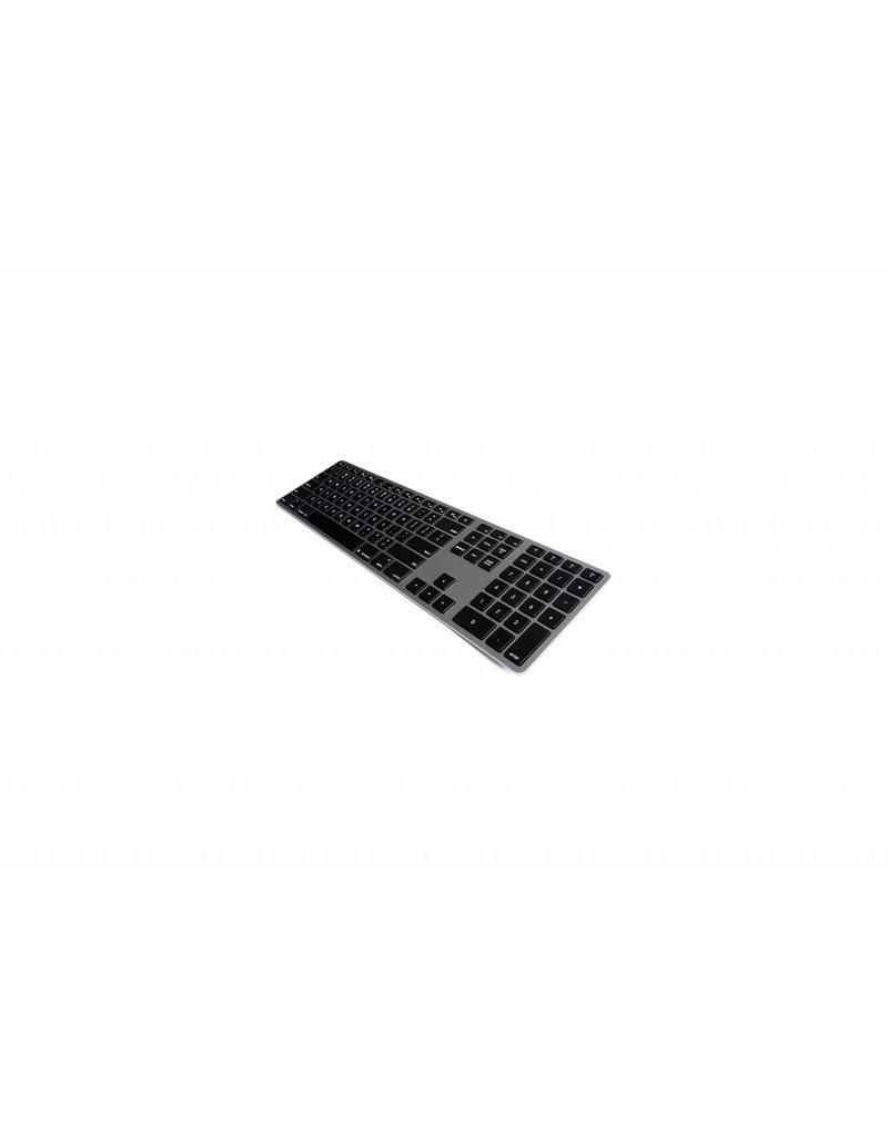 Matias Matias Wireless Toetsenbord met Backlight (Space Gray)