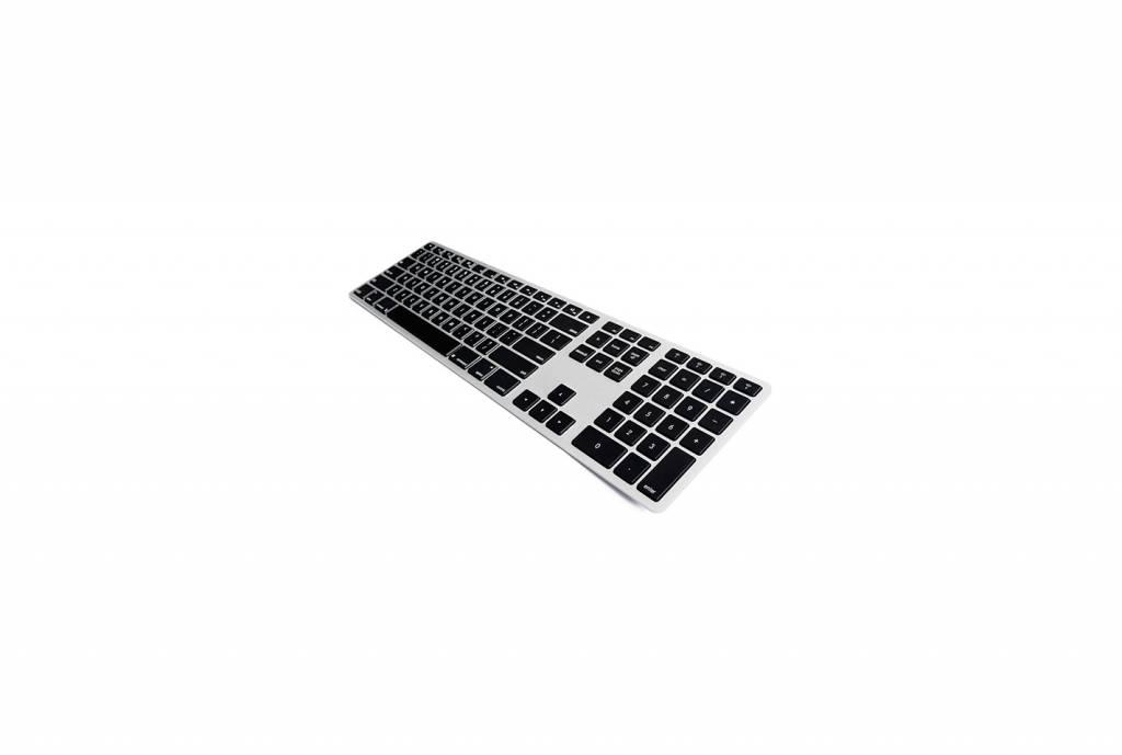 Matias Matias Draadloos Toetsenbord met Backlight (Aluminium)