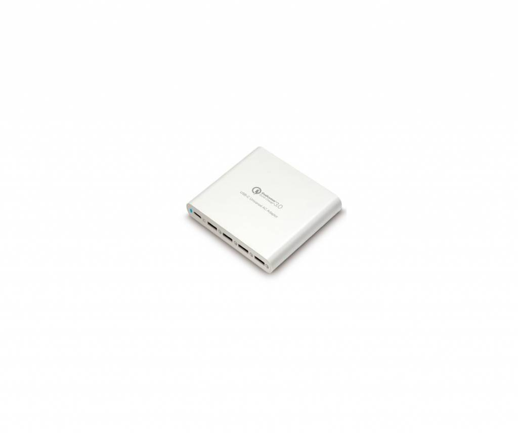 Hyper Hyper USB-C adapter with 4x QC 3.0 USB