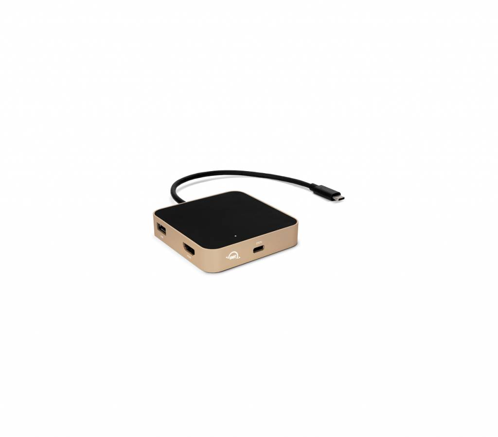 OWC OWC Travel Dock Goud