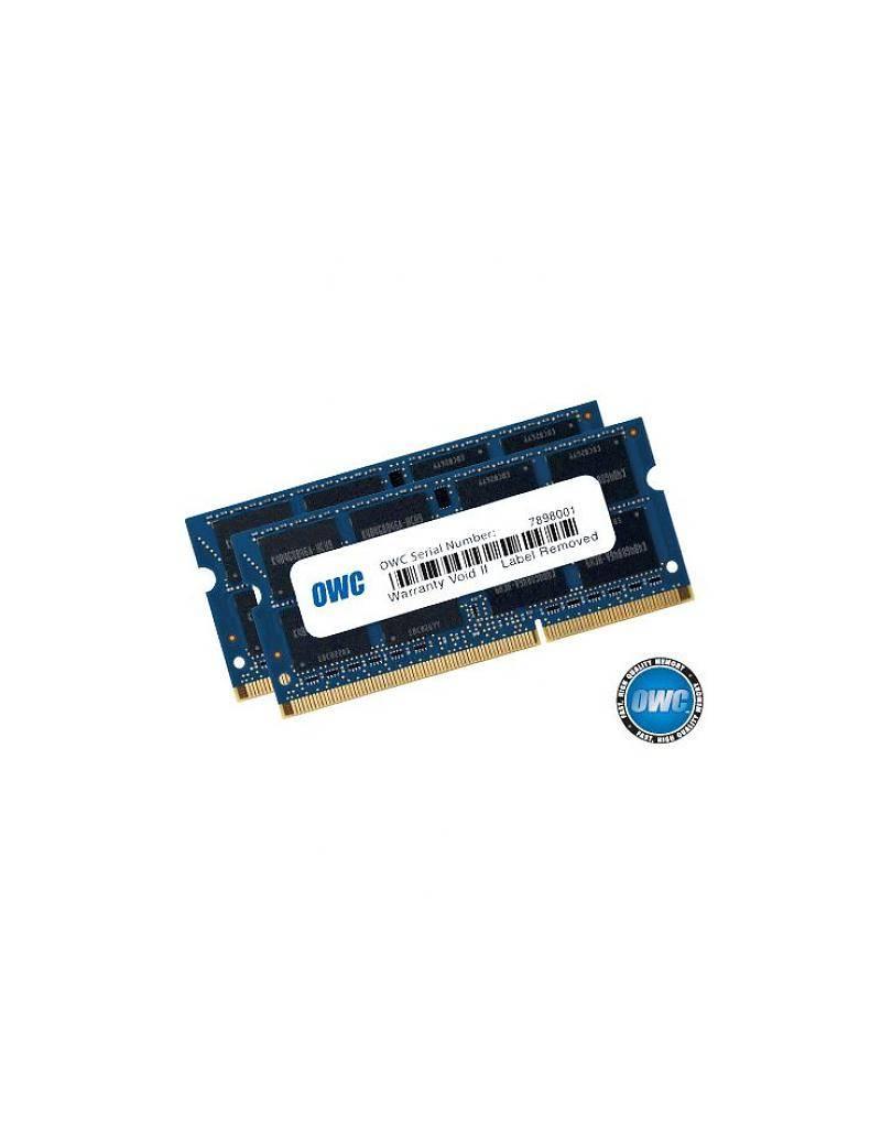 OWC OWC 8GB KIT (2x4GB) SO-DIMM PC12800 1600MHz