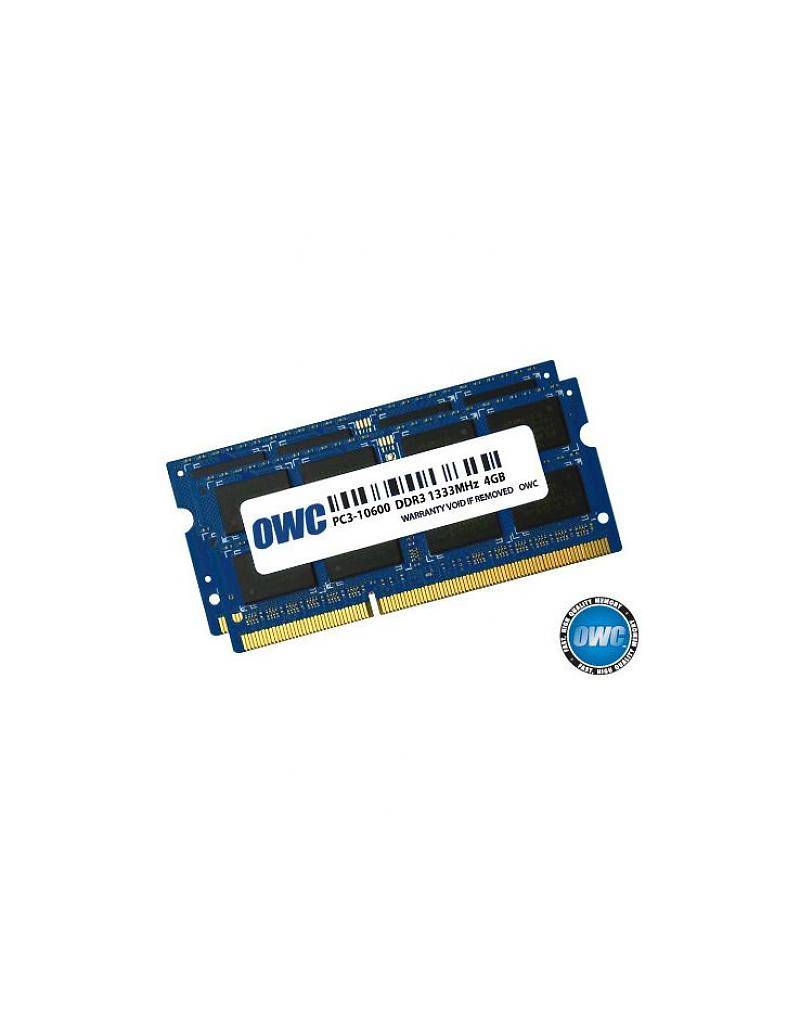 OWC OWC 8GB KIT (2x4GB) SO-DIMM PC10600 1333MHz