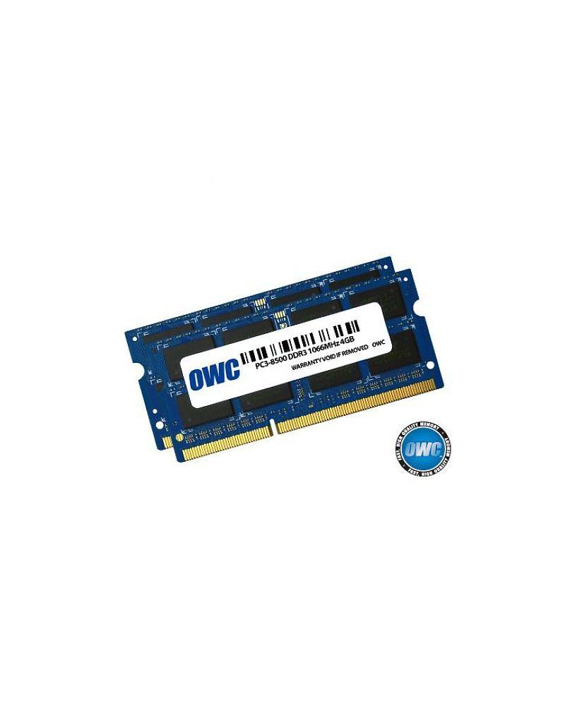 OWC OWC 8GB KIT (2X4GB) SO-DIMM PC8500 1066MHz