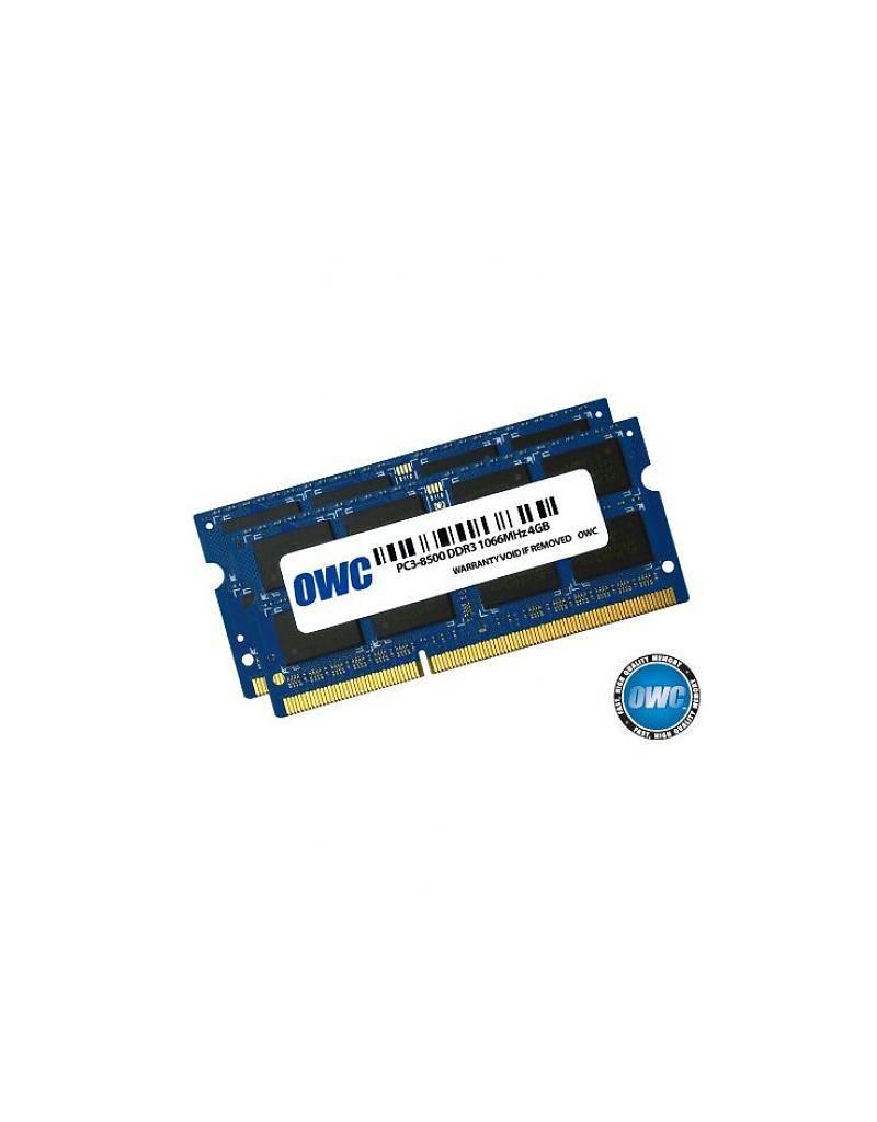 OWC OWC 8GB KIT (2X4GB) SO-DIMM PC8500 1066MHz