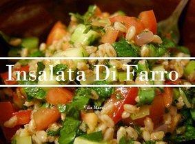 salade van granen & groenten