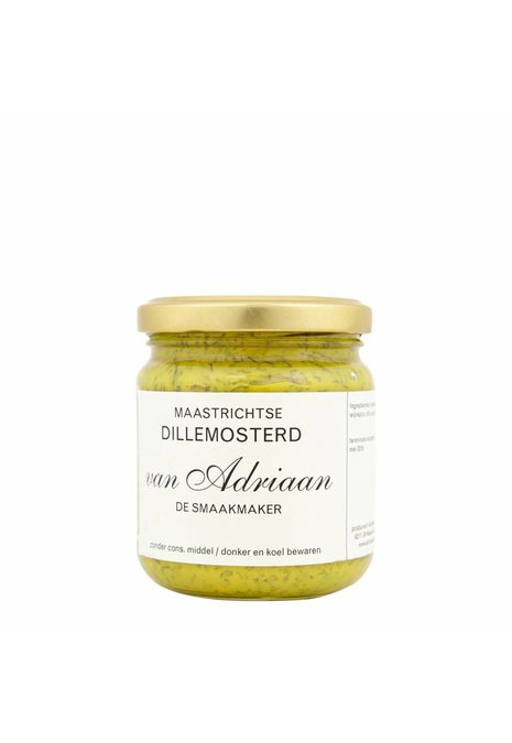 Adriaan de Smaakmaker dille mosterd 200 gram