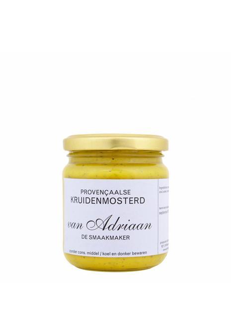 Adriaan de Smaakmaker provenciaalse kruidenmosterd