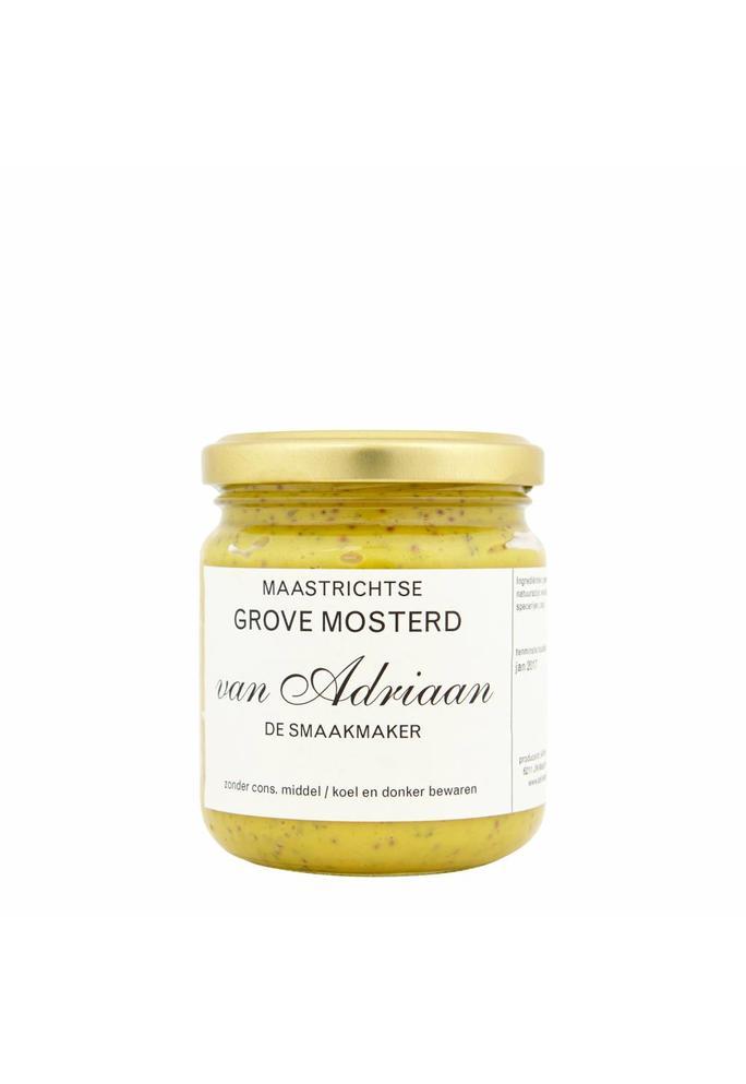 Adriaan de Smaakmaker grove mosterd 200 gram