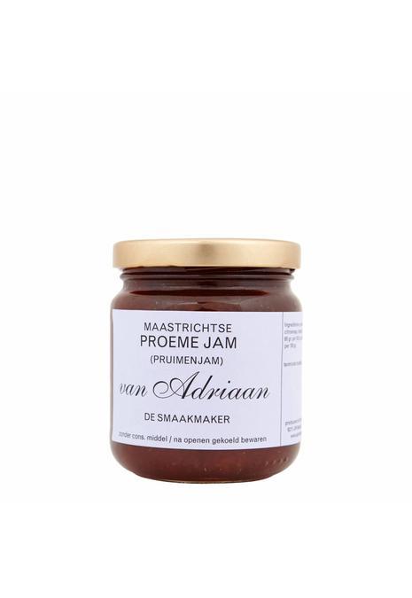 Adriaan de Smaakmaker pruimen jam 225 gram Vanaf 5 augustus bezorgd!
