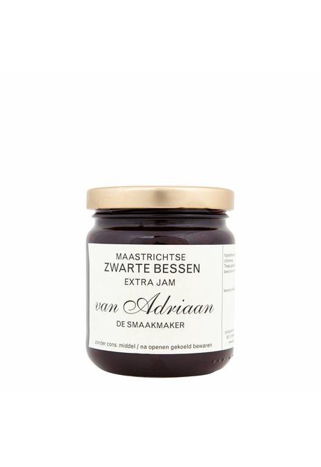 Adriaan de Smaakmaker zwarte bessenjam 225 gram Vanaf 5 augustus bezorgd!