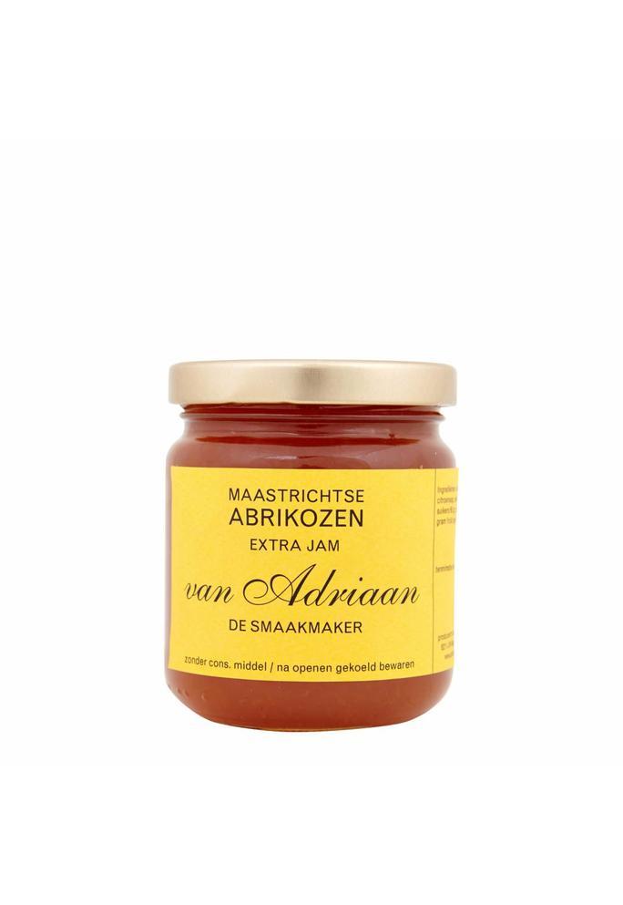 Adriaan de Smaakmaker abrikozen jam 225 gram