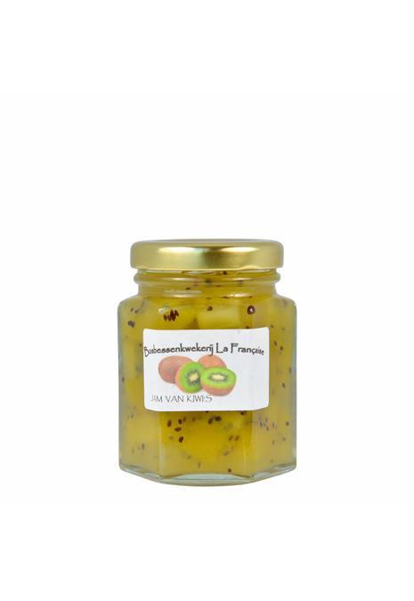 Bosbessenkwekerij La Française Kiwi jam (50 gram, 135 gram of 325 gram)