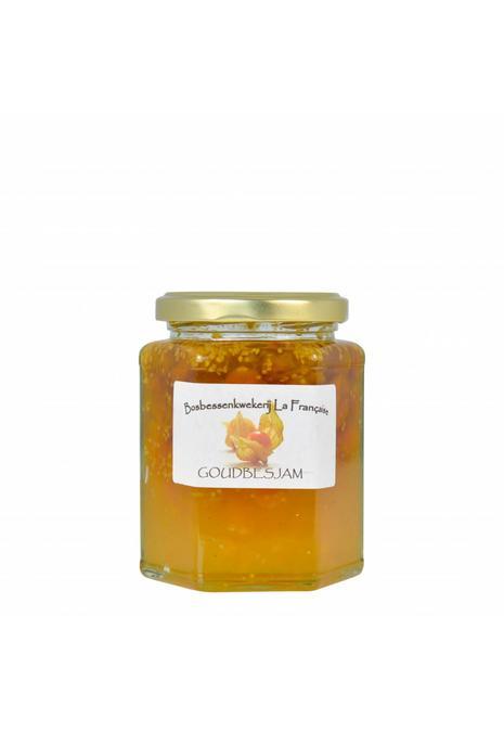 Bosbessenkwekerij La Française Goudbes jam (50 gram, 135 gram of 325 gram)