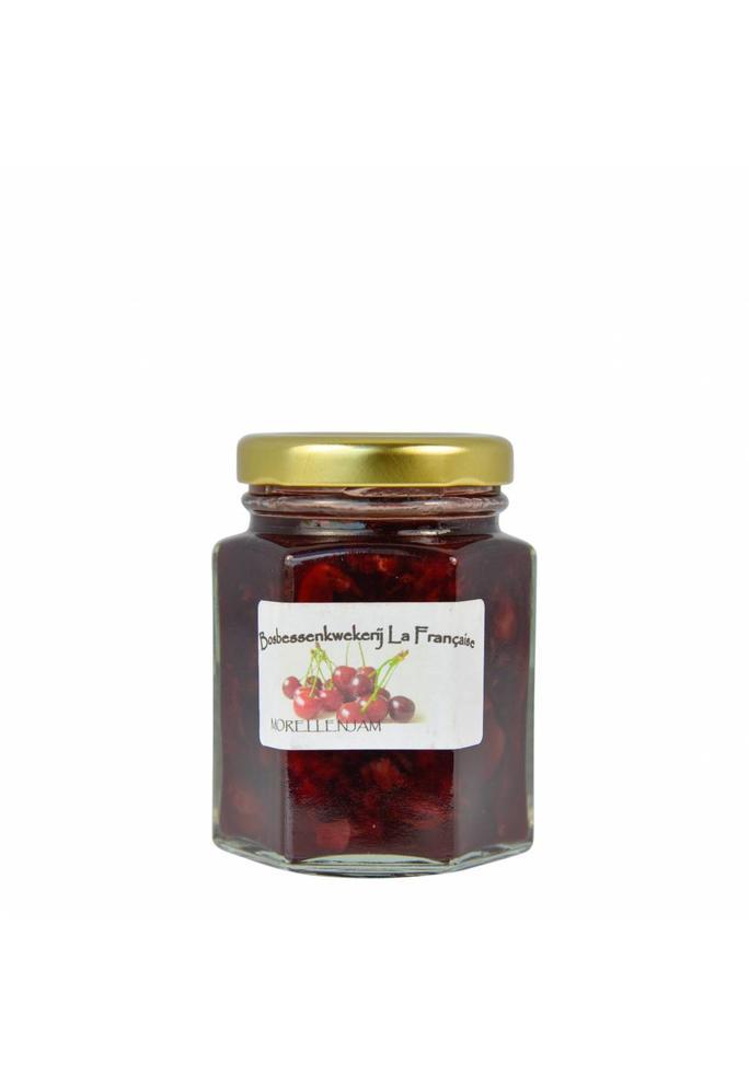 Bosbessenkwekerij La Française Morellen jam La Française  (50 gram, 135 gram of 325 gram)