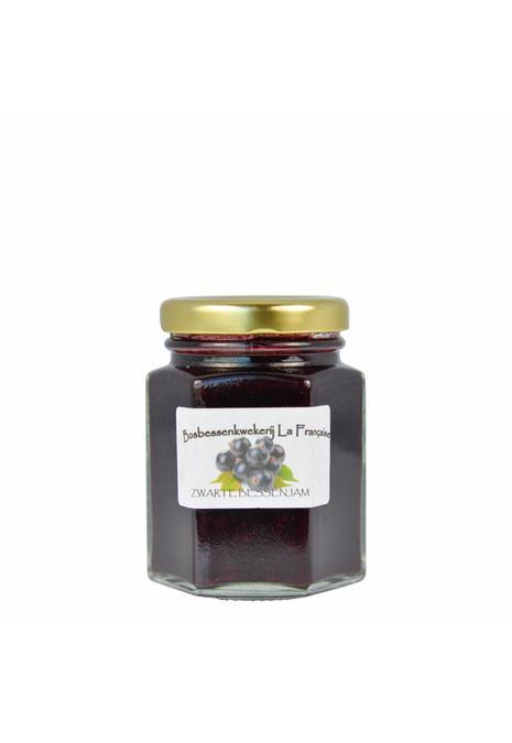 Bosbessenkwekerij La Française Zwarte bessen jam (50 gram, 135 gram of 325 gram)