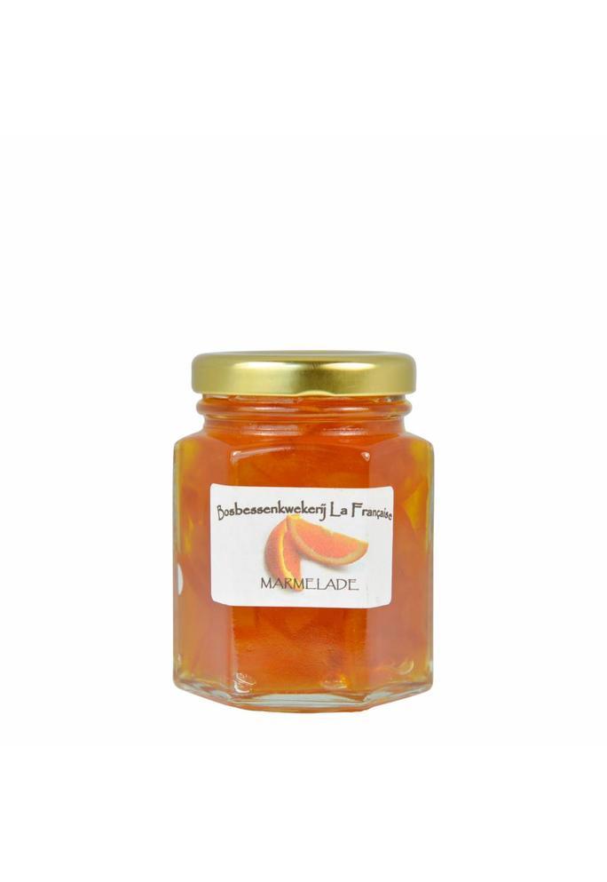 Bosbessenkwekerij La Française Sinaasappel marmelade La Française (50 gram, 135 gram of 325 gram)